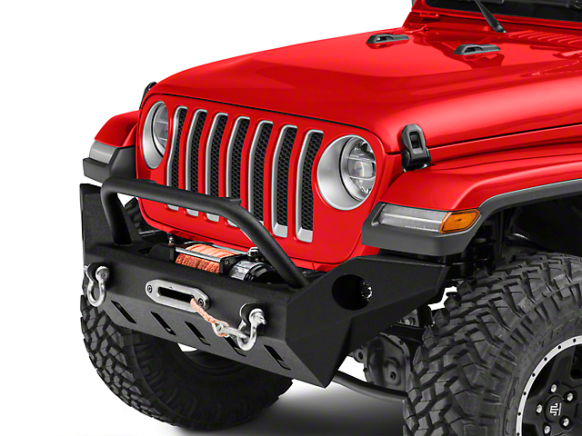 Barricade Extreme HD Full Width Front Bumper with LED Fog Lights (18-21 Jeep Wrangler JL)