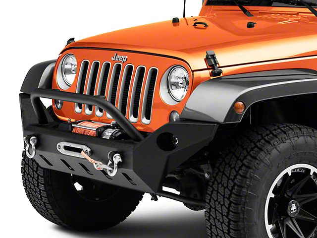 Barricade Extreme HD Full Width Front Bumper w/ LED Fog Lights (07-18 Jeep Wrangler JK)
