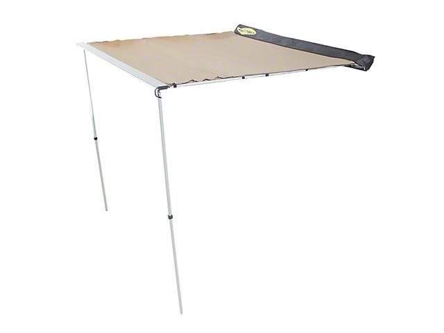 Smittybilt Overlander Tent Awning; 6.50-Foot x 6.50-Foot (Universal Fitment)
