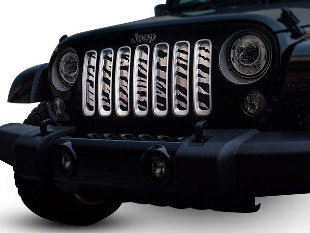 2007 2018 Jk Jeep Wrangler Grille Inserts Overlays Extremeterrain
