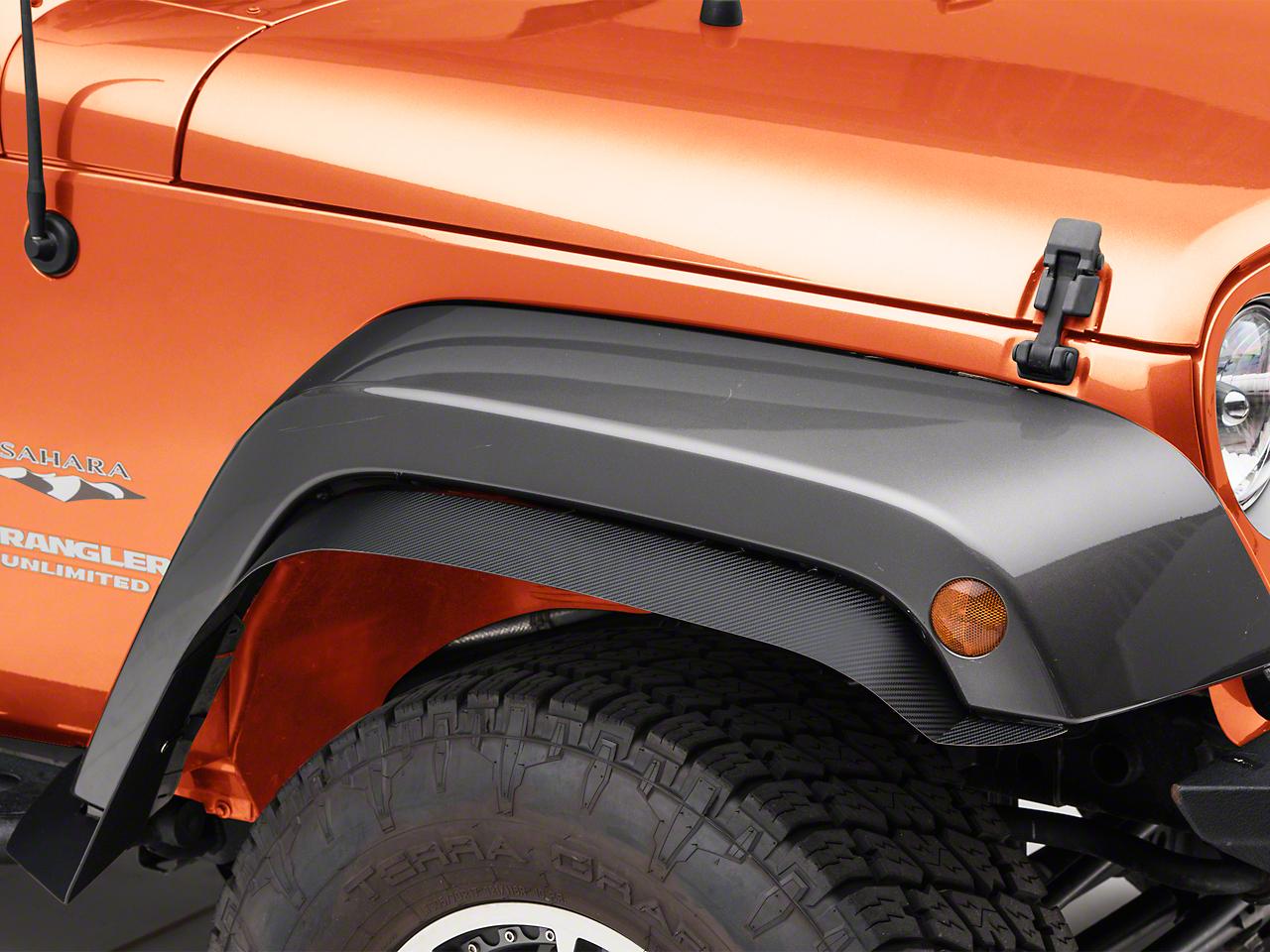 ACC Tactical Fender Flares - Carbon Fiber (07-18 Jeep Wrangler JK)