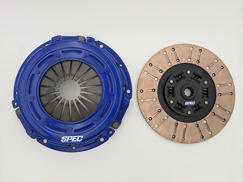 Spec Stage 3+ Carbon Clutch Kit - 10 Spline (07-11 3.8L Jeep Wrangler JK)