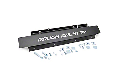 Rough Country Front Skid Plate for Factory Plastic Bumpers (07-18 Jeep Wrangler JK)