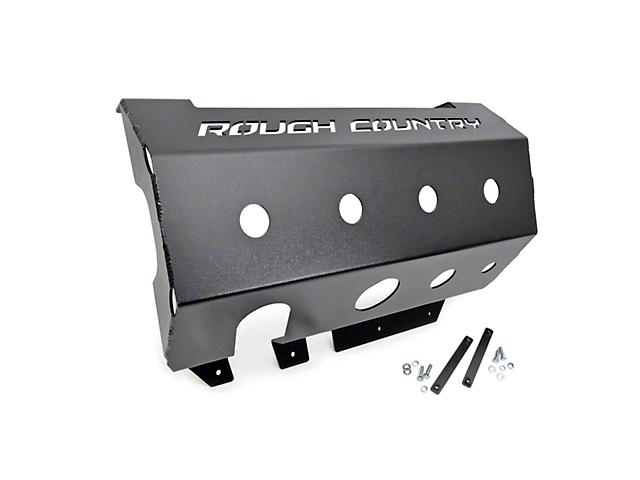 Rough Country Muffler Skid Plate (07-18 Jeep Wrangler JK)