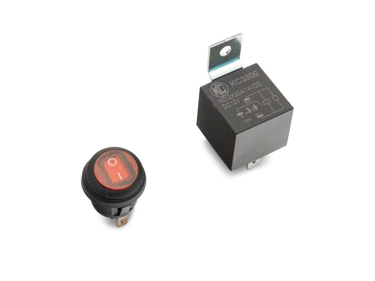 Relay Switch Amp