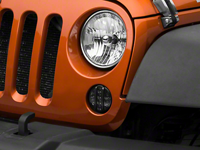 Axial Smoked LED Front Turn Signals (07-18 Jeep Wrangler JK)