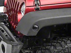 Axial LED Side Marker Lights; Smoked (07-18 Jeep Wrangler JK)