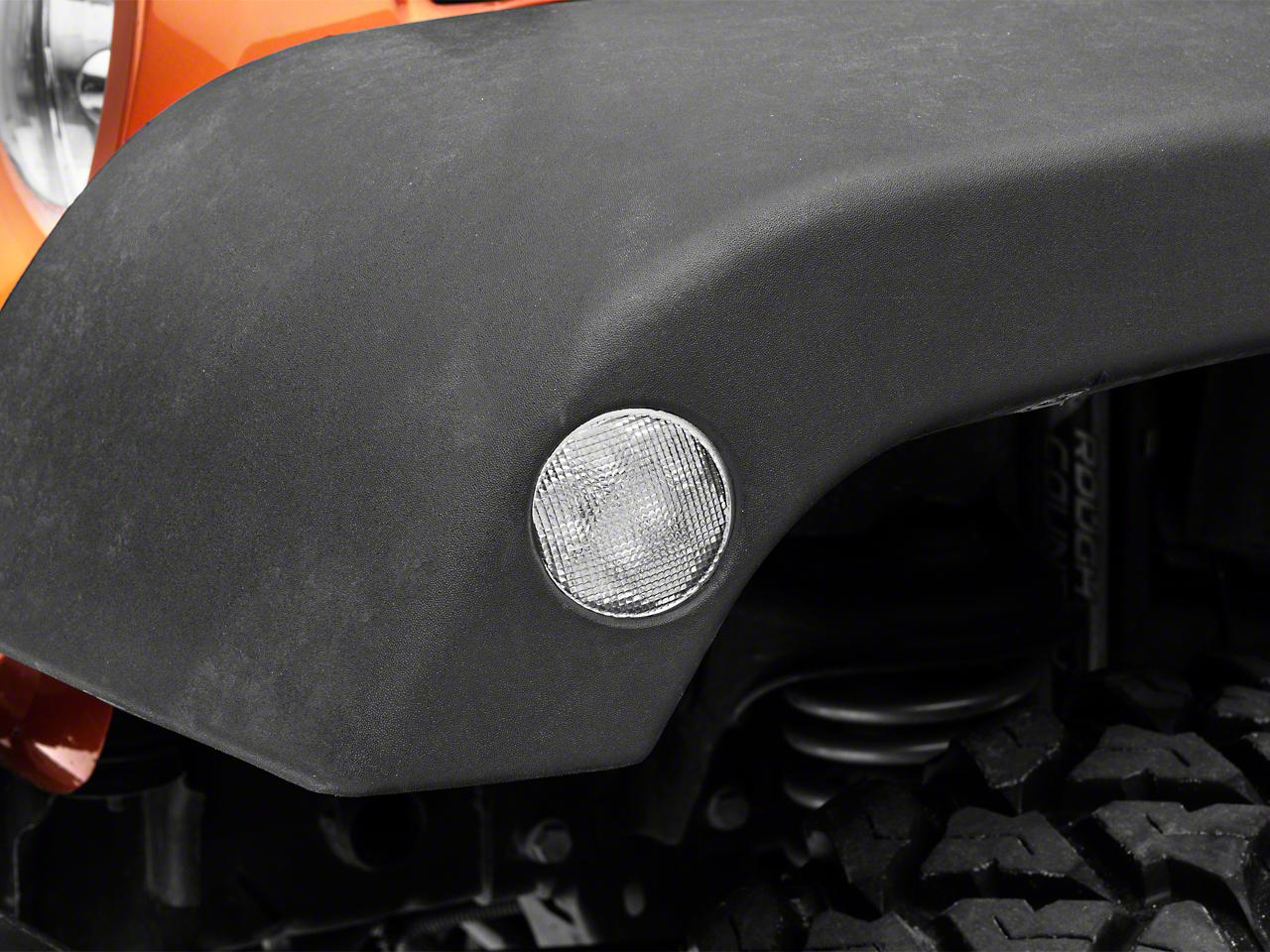 Axial Clear LED Side Marker Lights (07-18 Jeep Wrangler JK)