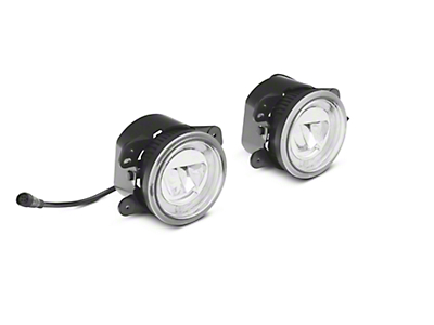 Axial LED Fog Lights w/ DRL (07-18 Jeep Wrangler JK)