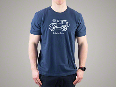 Life is Good Native Off Road Crusher T-Shirt