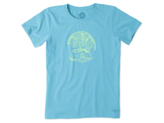 Life is Good Women's Take the Back Roads Crusher T-Shirt