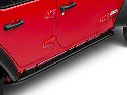N-Fab Full Length RKR Side Rails; Textured Black (18-21 Jeep Wrangler JL 4-Door)
