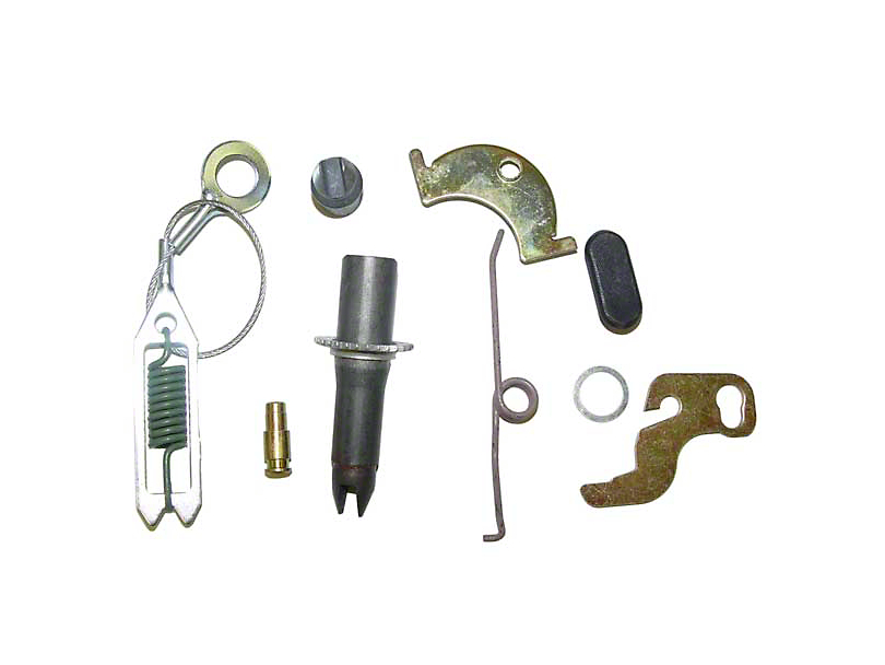 Drum Brake Self Adjusting Hardware; Driver Side (90-00 Jeep Wrangler YJ & TJ)