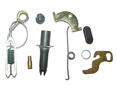 Omix-ADA Drum Brake Self Adjusting Hardware Kits Left Rear (90-95 Jeep Wrangler YJ w/ 9 in. Brake & Dana 35)