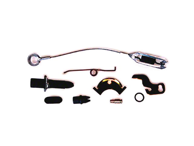 Omix-ADA Drum Brake Self Adjusting Hardware Kits Right Rear (90-95 Jeep Wrangler YJ w/ 9 in. Brake & Dana 35)