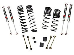 SkyJacker 2 to 2.50-Inch Dual Rate Long Travel Suspension Lift Kit with M95 Performance Shocks (18-21 2.0L or 3.6L Jeep Wrangler JL Rubicon 4-Door)