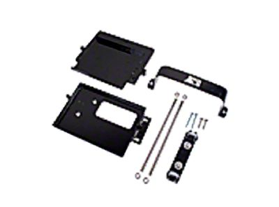 Rugged Ridge Dual Battery Tray Kit (97-06 Jeep Wrangler TJ)
