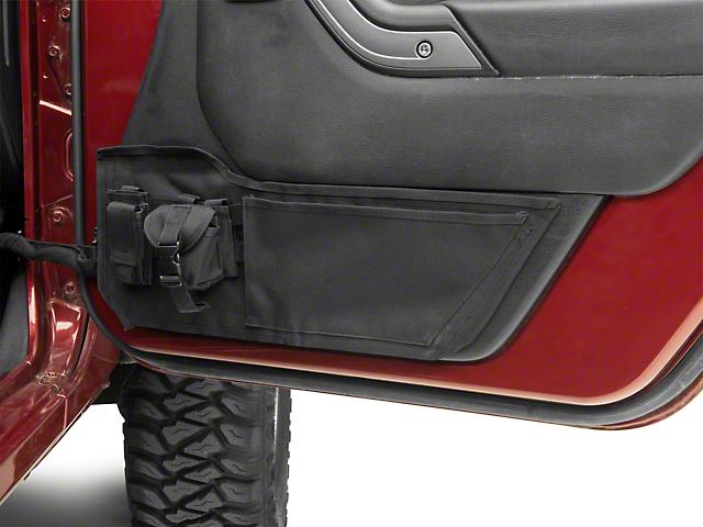 Rugged Ridge Front Door Storage Panels (11-18 Jeep Wrangler JK)