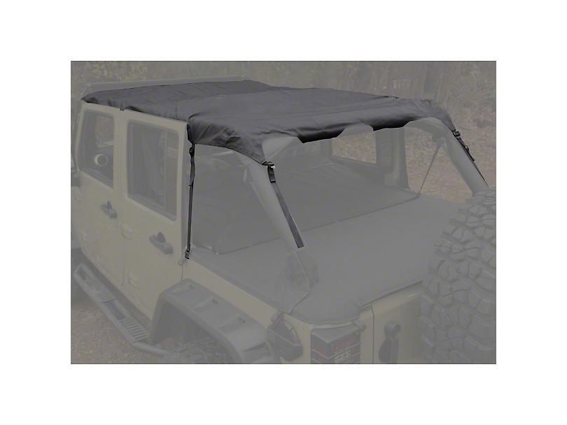 Rugged Ridge Montana Pocket Island Topper; Black Diamond (10-18 Jeep Wrangler JK 4 Door)