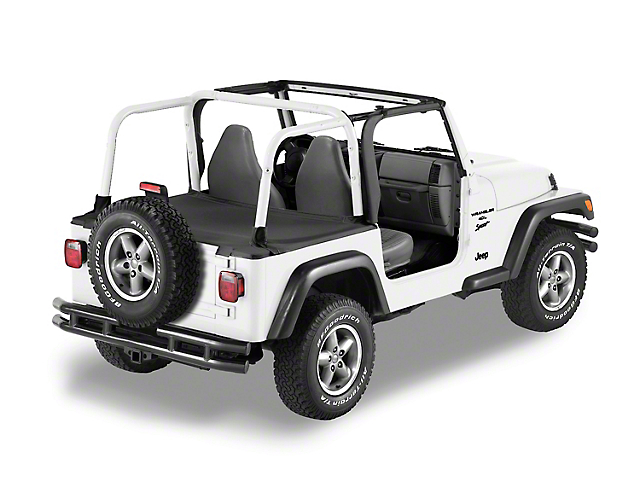Bestop Duster Deck Cover - Black Diamond (04-06 Jeep Wrangler TJ Unlimited)