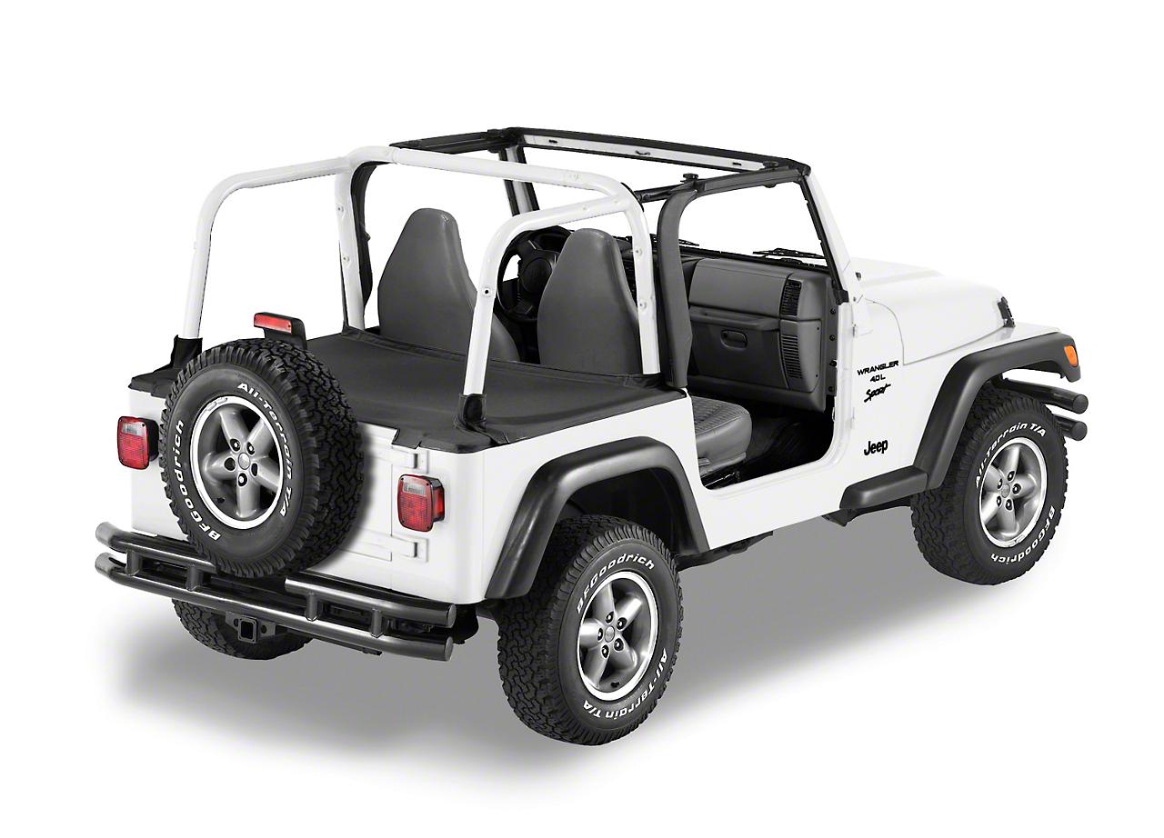 Bestop Duster Deck Cover - Black Diamond (04-06 Jeep Wrangler TJ Unlimited)