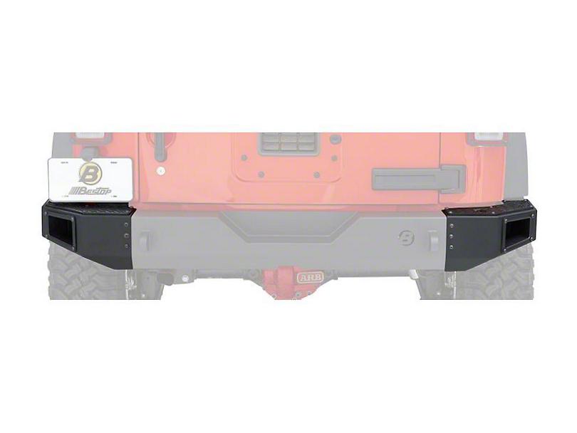 Bestop End Cap Kit for HighRock 4x4 Modular Rear Bumper (07-18 Jeep Wrangler JK)