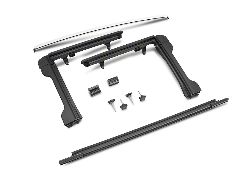 Bestop Factory Style Door Surround Kit (10-18 Jeep Wrangler JK)