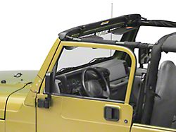 Bestop Jeep Wrangler No-Drill Windshield Channel 51238-01 (97-06