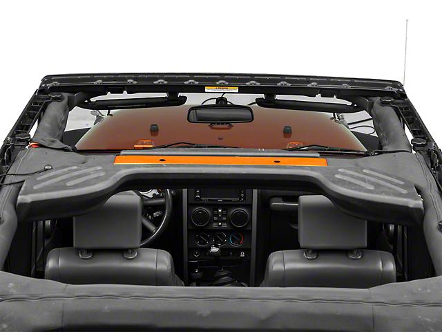 Bestop Factory Style Windshield Header Assembly (07-18 Jeep Wrangler JK)