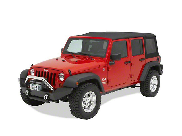 Bestop HighRock 4x4 Full-Width Front Bumper (07-18 Jeep Wrangler JK)