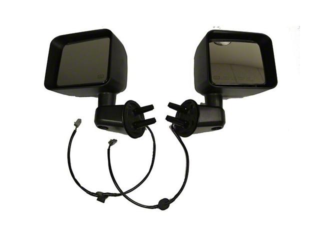Bestop HighRock 4x4 Replacement Powered Mirrors - Black (11-13 Jeep Wrangler JK)