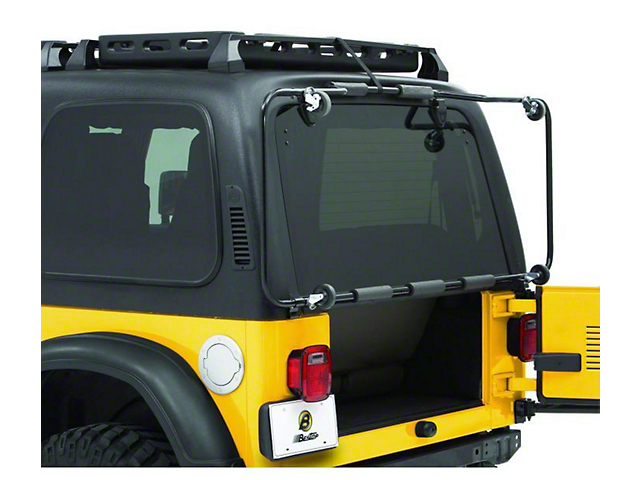 bestop jeep wrangler hoss hard top cart bes42804 01 87 06. Black Bedroom Furniture Sets. Home Design Ideas
