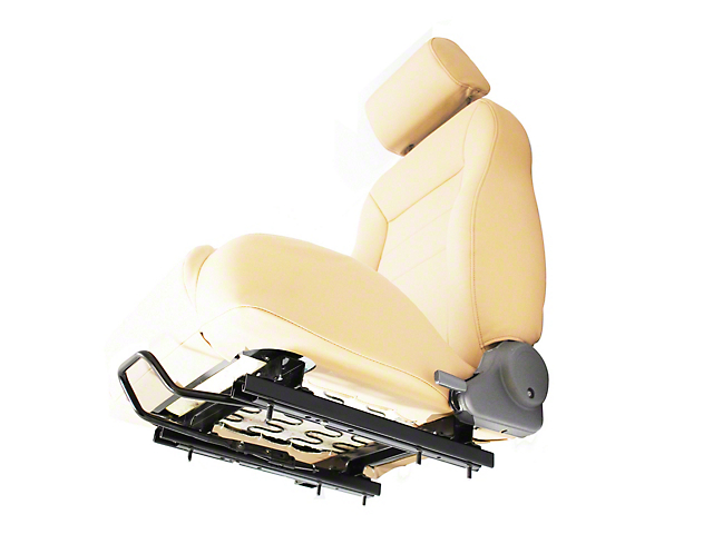 Bestop Passenger Side Seat Adaptor/Slider (03-06 Jeep Wrangler TJ)