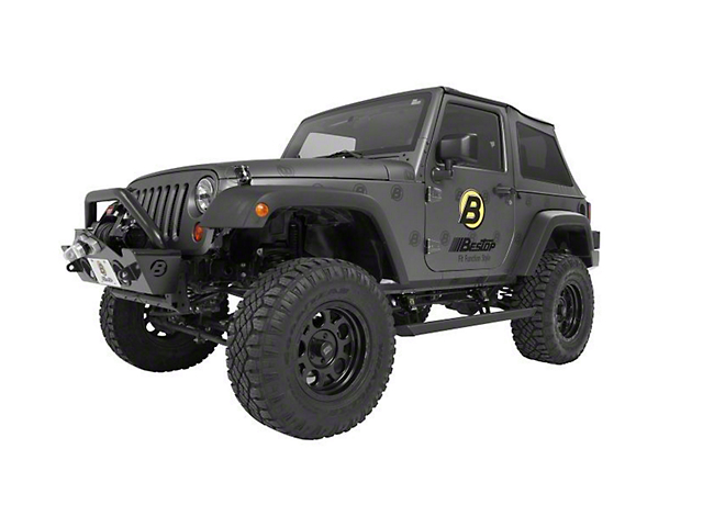 Bestop Powerboard Automatic Running Boards (07-18 Jeep Wrangler JK 2 Door)