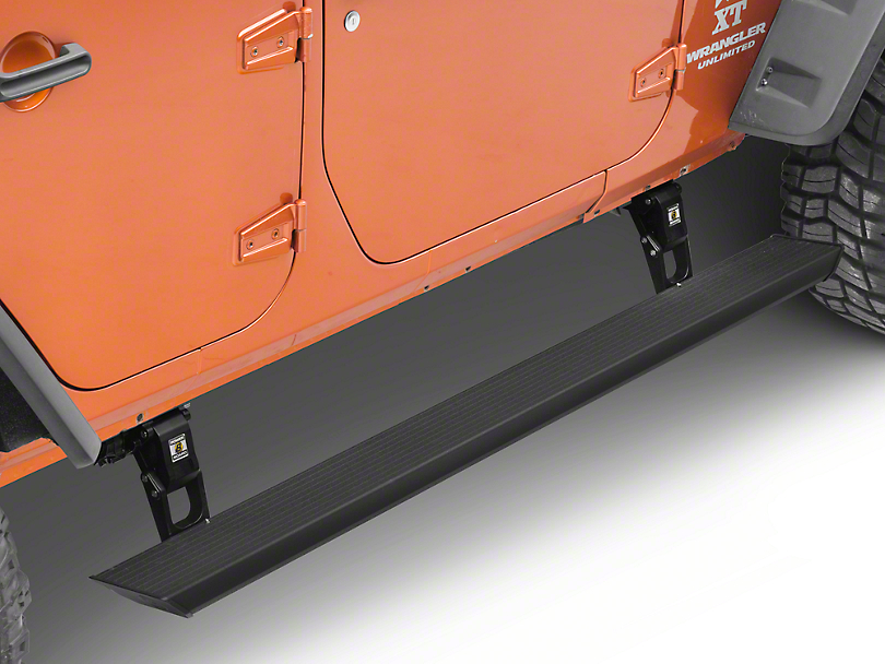 Bestop Powerboard Automatic Running Boards (07-18 Jeep Wrangler JK 4 Door)