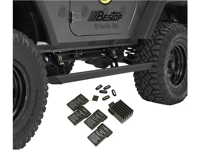 Bestop Jeep Wrangler Powerboard Nx Automatic Running Boards Bes75651