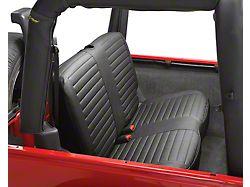 Bestop Rear Bench Seat Cover - Black Diamond (03-06 Jeep Wrangler TJ)