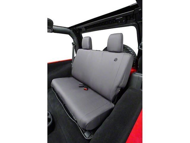 Bestop Rear Seat Cover - Charcoal (07-18 Jeep Wrangler JK)