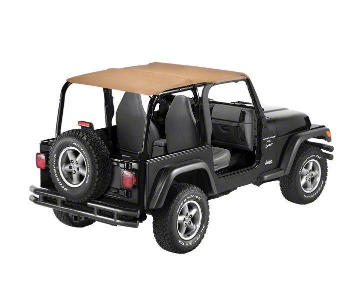 Bestop Safari-Style Strapless Bikini Top - Spice (97-02 Jeep Wrangler TJ)