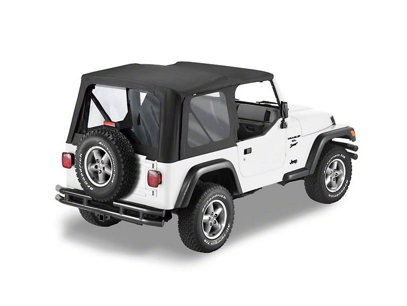 Bestop Sailcloth Replace-a-Top - Black (97-02 Jeep Wrangler TJ)