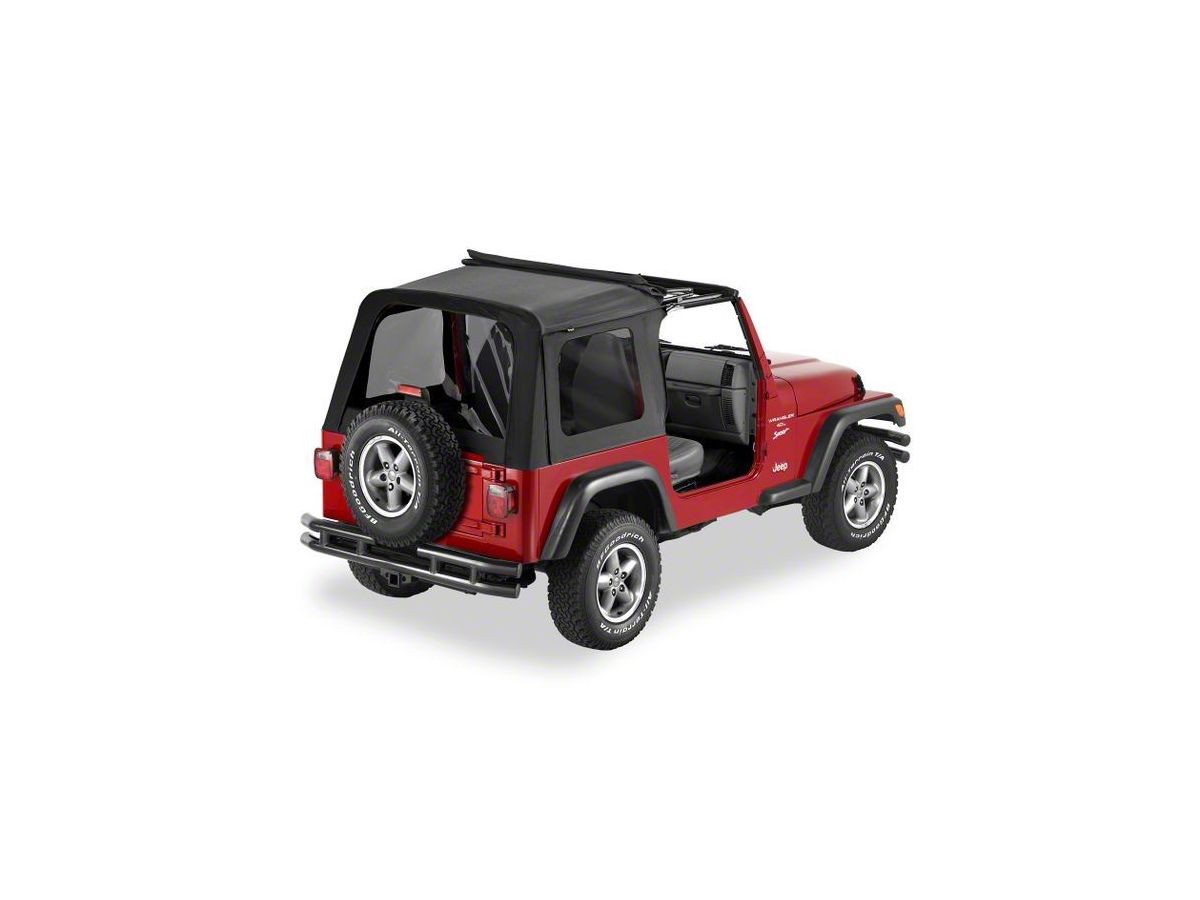 Sunrider Soft Top >> Bestop Sunrider Complete Replacement Soft Top 03 06 Jeep Wrangler Tj Excluding Unlimited