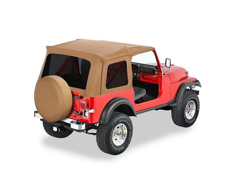 Bestop Supertop Classic Replacement Soft Top - Spice (87-95 Jeep Wrangler YJ)