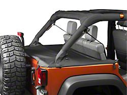 Bestop Duster Deck Cover - Black (07-18 Jeep Wrangler JK 4 Door)