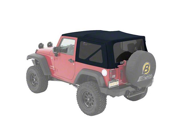 Bestop Supertop NX Soft Top - Blue Twill (07-18 Jeep Wrangler JK 2 Door)