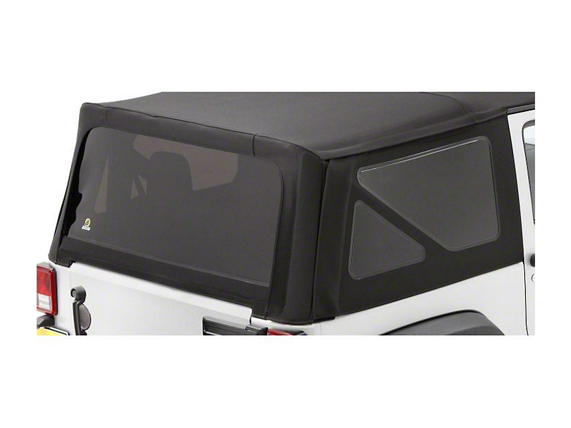 Bestop Tinted Replacement Window Set for Sailcloth Replace-a-Top (07-10 Jeep Wrangler JK 2 Door)