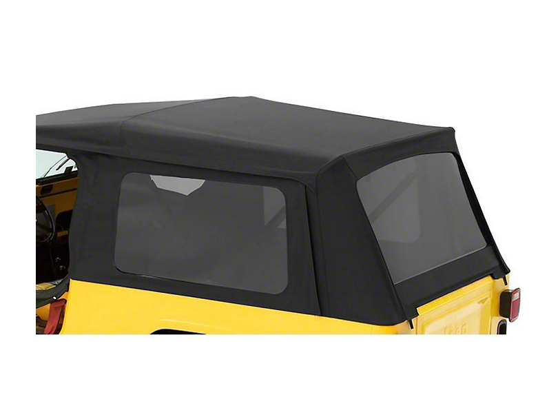 Bestop Tinted Replacement Window Set for Supertop NX or OEM Top (04-06 Jeep Wrangler TJ Unlimited)