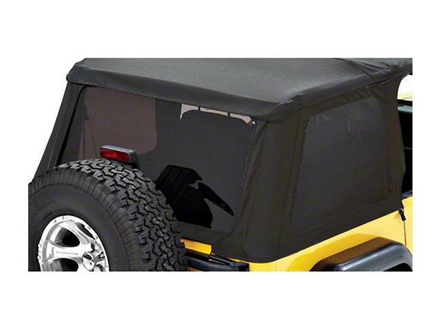 Bestop Tinted Replacement Window Set for Trektop NX - Black Denim (97-06 Jeep Wrangler TJ, Excluding Unlimited)