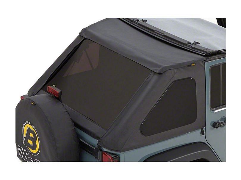 Bestop Tinted Replacement Window Set for Trektop NX - Black Diamond (07-18 Jeep Wrangler JK 4 Door)