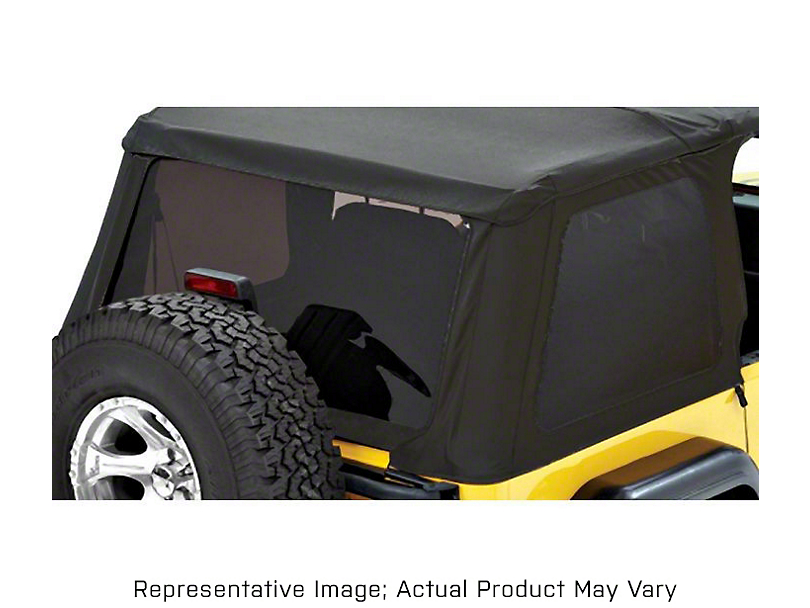 Bestop Tinted Replacement Window Set for Trektop NX - Spice (97-06 Jeep Wrangler TJ, Excluding Unlimited)