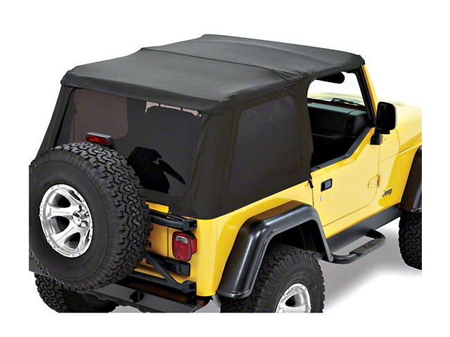 Bestop Trektop NX Replace-a-Top - Black Twill (97-06 Jeep Wrangler TJ, Excluding Unlimited)